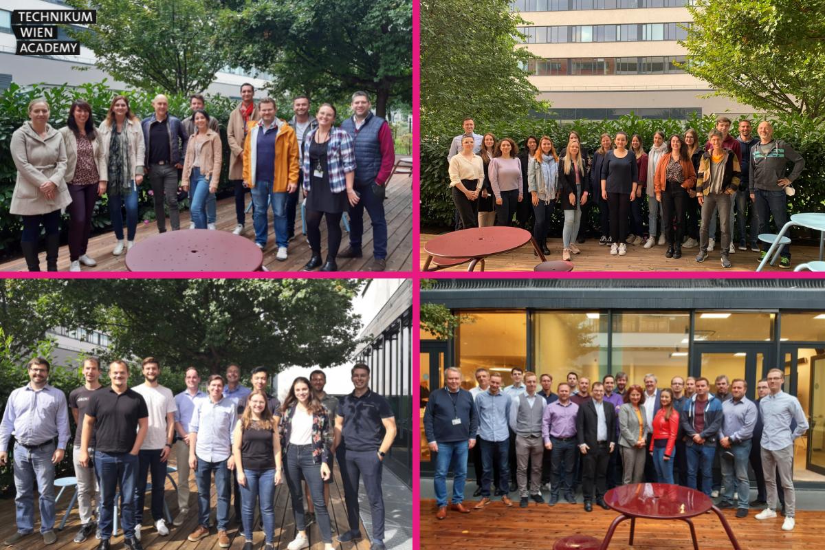 Rekord: 100 Studierende starten erstes Semester an der Technikum Wien Academy